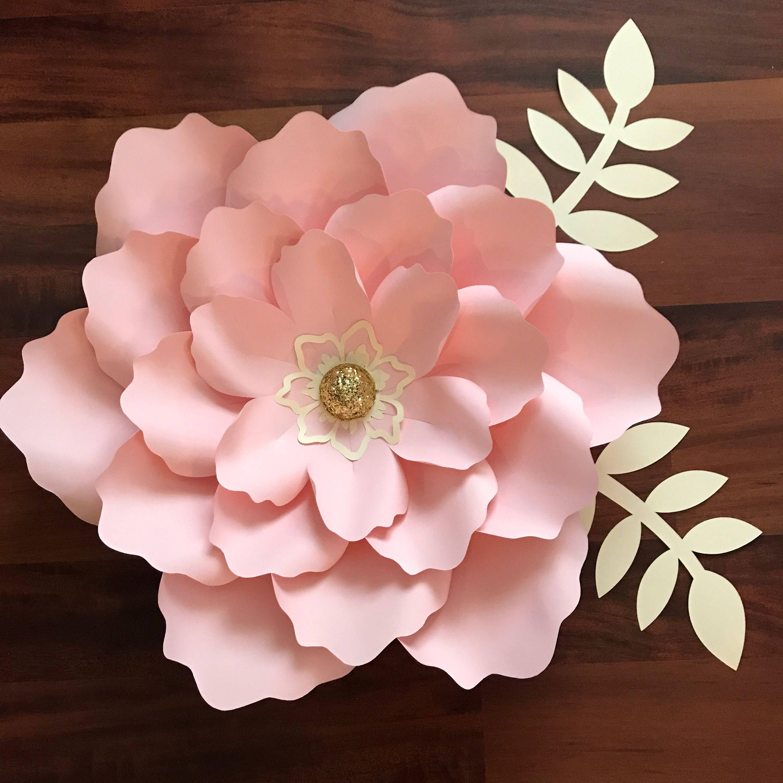 Бумажные цветы на стену своими руками шаблоны