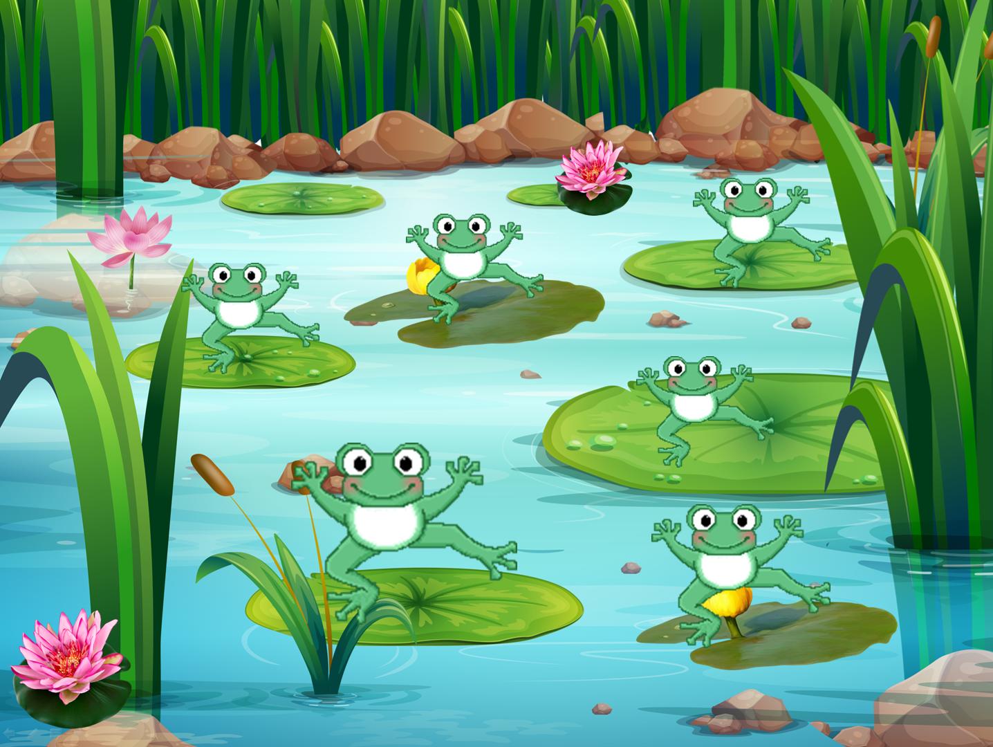 картинка лягушонка из игры соотвестственно
